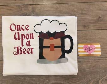 Prince Phillip Beer Mug Sleeping Beauty Mens Food and Wine Shirt