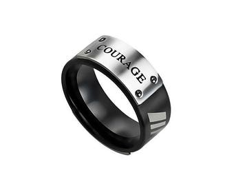 """MLX Ring """"Courage"""""""