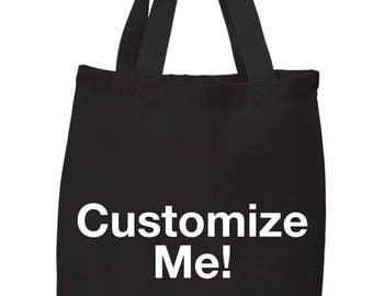 Customize Tote Bags/Purses