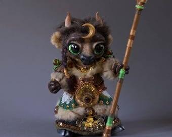 Tauren Druid Tier 8 handmade plushie [World of Warcraft]