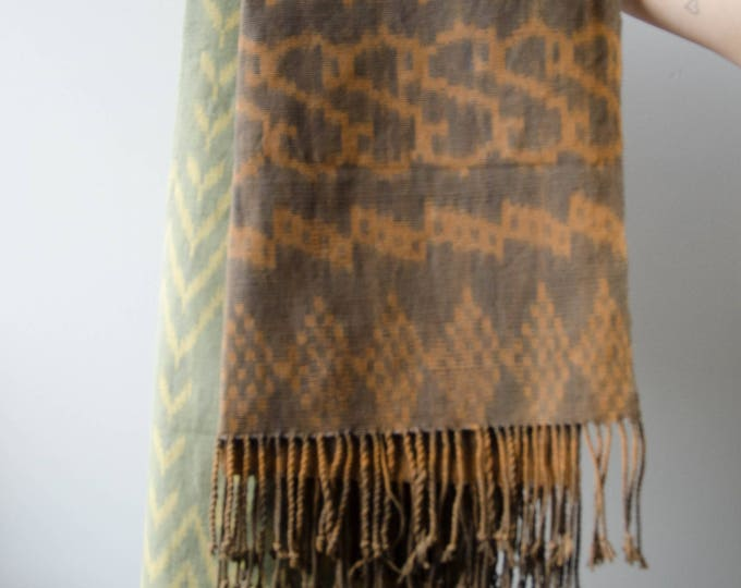 Handmade handyed towels / throw blankets / Table runner. Natural dye