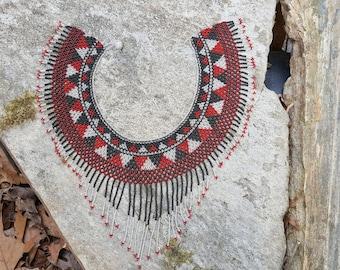 Huichol Chaquira Beads Choker
