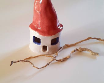 Cottage ceramic / / hand made House / / nursery home / / Christmas House / / decor for nursery / / decor for the Christmas tree