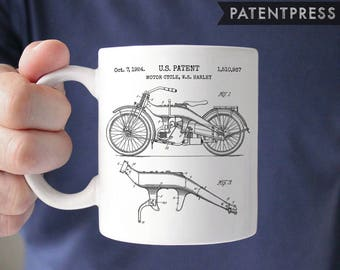 Harley Davidson Gift For Men Gifts Motorcycle Gifts Harley Patent  Motorcycle Wedding Gift For Mechanic Gift