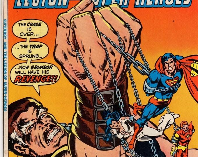 Superboy Comic Book #240 DC Comics 1978 VG-F Grimbor