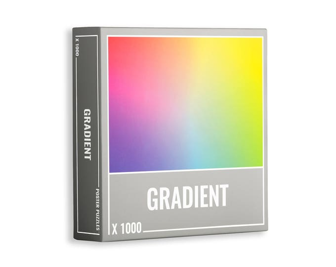 Amazing Gradient Jigsaw Puzzle for Adults (1000 pieces)