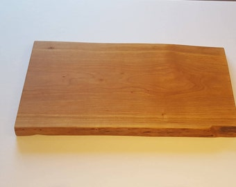 Live Edge Cherry Charcuterie/Serving Board