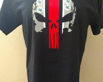 Ohio State Buckeyes Football Punisher Shirt