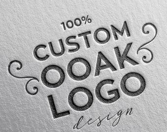 Custom Logo, OOAK Logo, Professional Custom Business Logo Design, Custom Branding, Vector Logo Unique Logo One of a Kind Logo Graphic Design