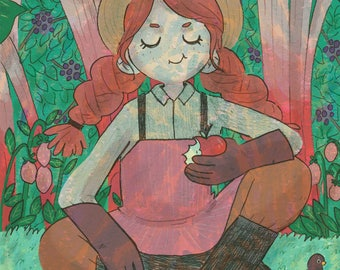 Gardener A4 Print - **SALE**