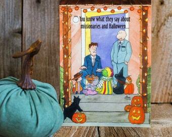 Missionary Halloween Card
