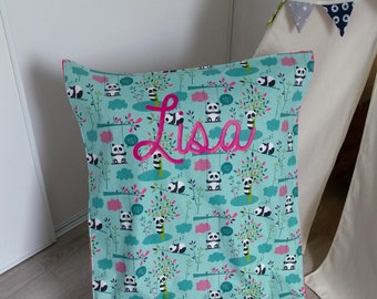 Colorful cotton and minky baby blanket / / birthday gift personalized //cadeau baby personalized with name