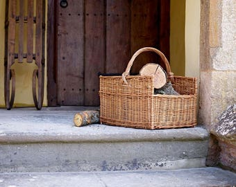 Somerset Log Carrier Basket