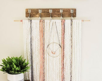 Yarn and Swag Wall Hanging (Large)