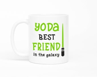 Yoda Best Friend Mug,Best Friend Mug,Friendship Mugs,Best Friend Gift,Gift For Best Friend,Funny Best Friend Mug,Long Distance Friendship