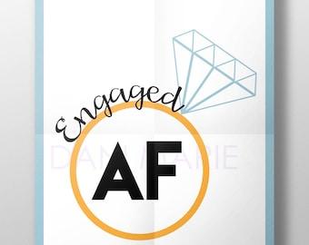Engaged AF SVG