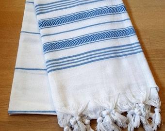 Turkish towel, Peshtemal, Beach towel, bath towel, fouta,