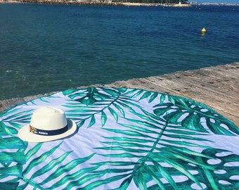 Round mat for Beach MOONYMOONY