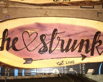 Wooden Name Plaques