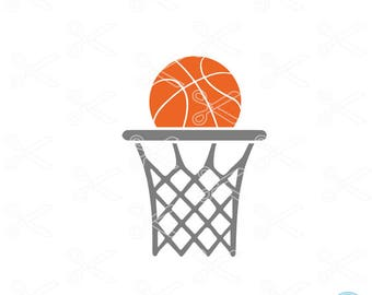 Basketball SVG PNG DXF Eps Cutting Files, basketball cut file, basketball clipart, basketball vector, cricut & silhouette cameo ready