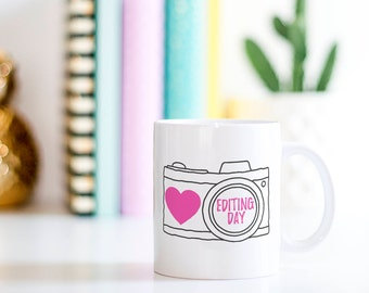 Photography Coffee Mug // Photographers Gift, Gift For Her, Planner Gift, Mother's Day Gift