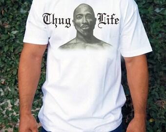 """Tupac """"Thug Life"""" T Shirt"""