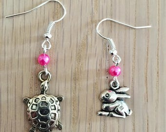 Tortoise and Hare earrings