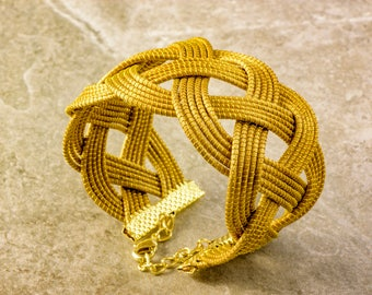 Luna Golden Grass Bracelet