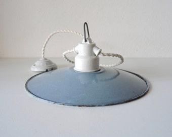 Old lamp shade enamel