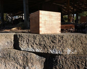 Maple wood box