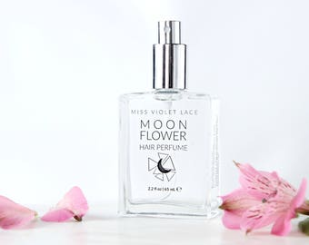 Moonflower Hair Perfume | Strawberry + Lavender | 100% natural and vegan