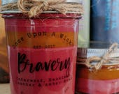 House Pride - Bravery   Gryffindor Inspired Bookish Soy Candle