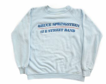 vintage sweatshirt / Bruce Springsteen / Born in the USA / 1980 Bruce Springsteen Born in the USA sweatshirt Medium