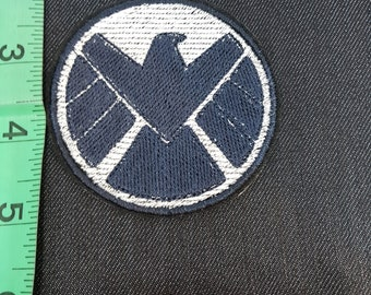 Marvel Captain America Shield Iron/Sew on Patch