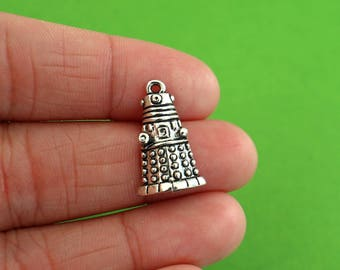 5 Doctor Who Dalek Charms (CH137)