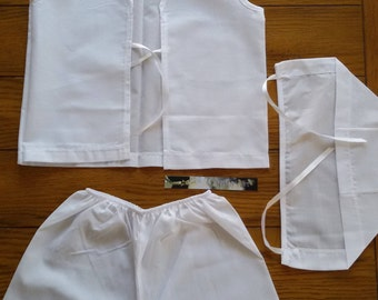Greek Baptism Ladopana Undergarment set Lathopana set BOY or GIRL Orthodox Baptism set Handmade with genuine CRYSTALLIZED™Swarovski Elements