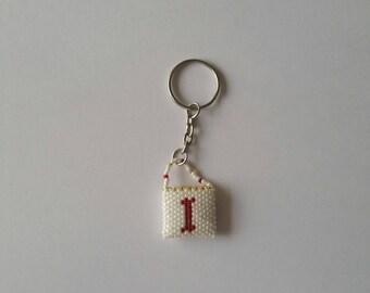 Letter 'I' Handbag keyring