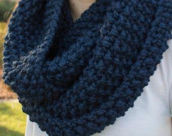 Bulky Knit Infinity Scarf