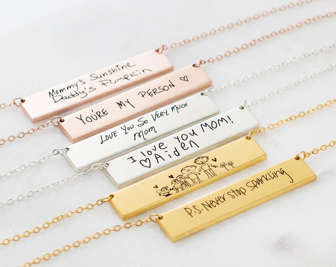 necklace writing process