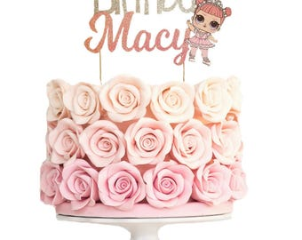 LOL Surprise Doll Inspired Cake Topper //LOL surprise cake topper //lol surprise party // lol surprise birthday // lol surprise centerpiece