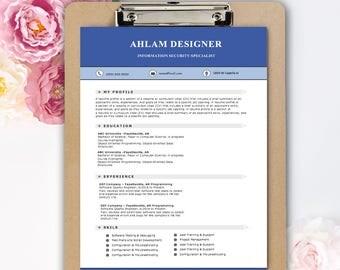 Professional Resume, Modern Resume, Professional Resume Template Word / CV Professional, CV Modern Template for Word, Modern CV Templates