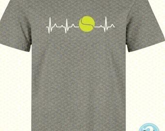 Tennis SVG, DXF, PNG, Eps Cutting File, Tennis Ball Svg File, Tennis Clipart, Silhouette Studio, Cricut, Tennis  T-shirt, tennis mom svg
