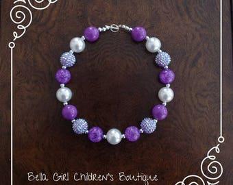 Bubblegum Necklace, Beaded Necklace, Necklace, Children's Necklace, Kid's Accessories, Cake Smash, Photo Shoot,Accessories