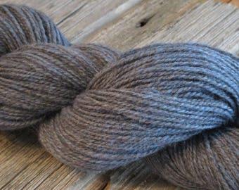 Hand dyed Yarn, 100% Lincoln Longwool, 'Blue Ridge'