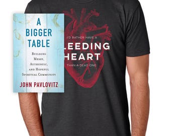 Bleeding Heart - Tee/Book Bundle