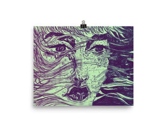 Swept Away // Art Print