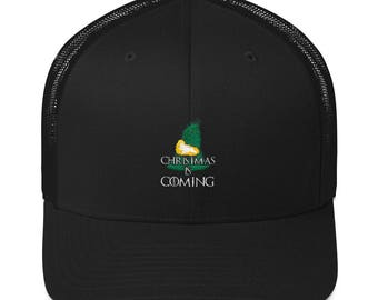 Trucker Cap Christmas Is coming Sports party cap