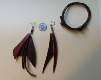 Costume leather jewelry - DIY Halloween fun, cosplay