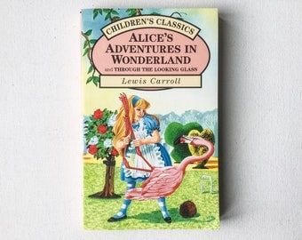 Alice in Wonderland Book, Vintage Alice's Adventures in Wonderland and Through the Looking Glass, Lewis Carroll, Parragon, 1993, 01437
