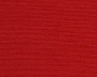 """Waterproof Canvas RED Indoor Outdoor Fabric / 60"""" Wide / Sold by the Roll - 60 Yards"""